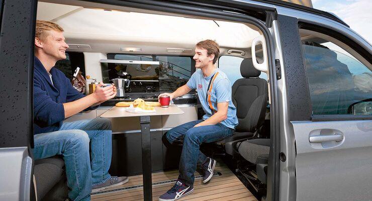 Neue Kollegen Motor Presse im Campingbus