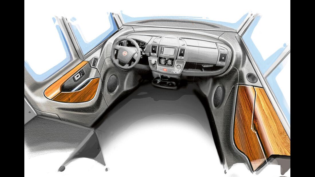 Neue schicke Cockpit-Integration vorgestellt von Designchef Frank Ventner.