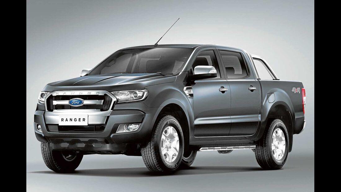 Neuer Ford Ranger mit frischem Design