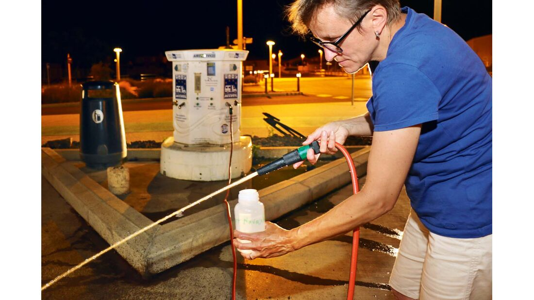 Neues Produkt zur Wasserentkeimung