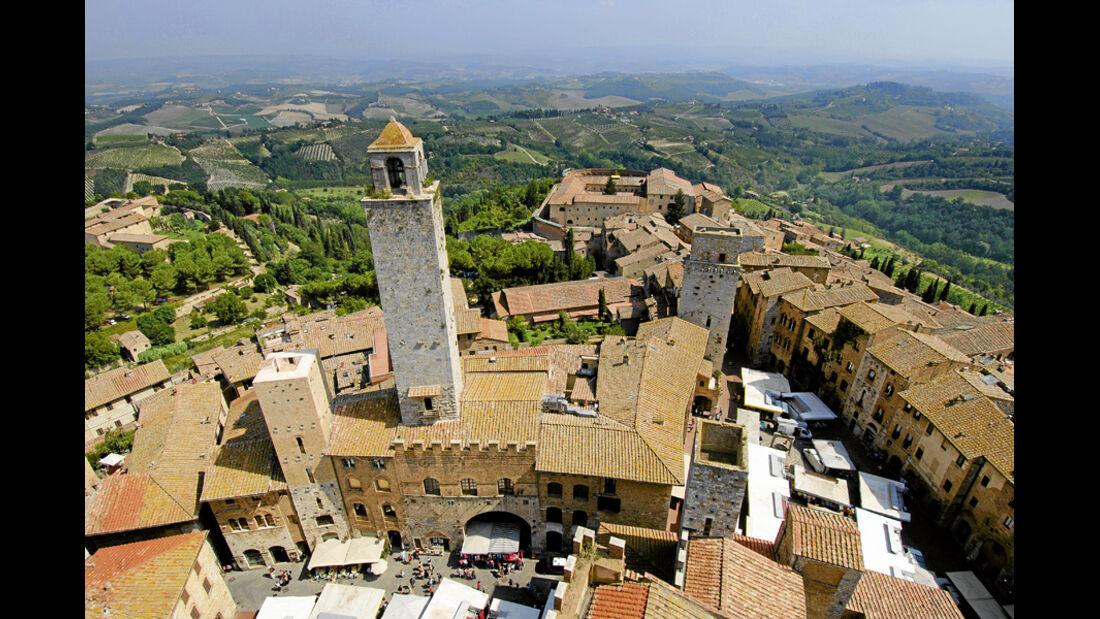 Neuheiten 2012, Mobil-Tour Toskana