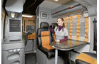 Neuheiten 2012, Vergleich Campingbusse