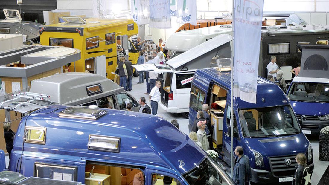 Neuheiten 2012, Weitere Reisemobilmarken