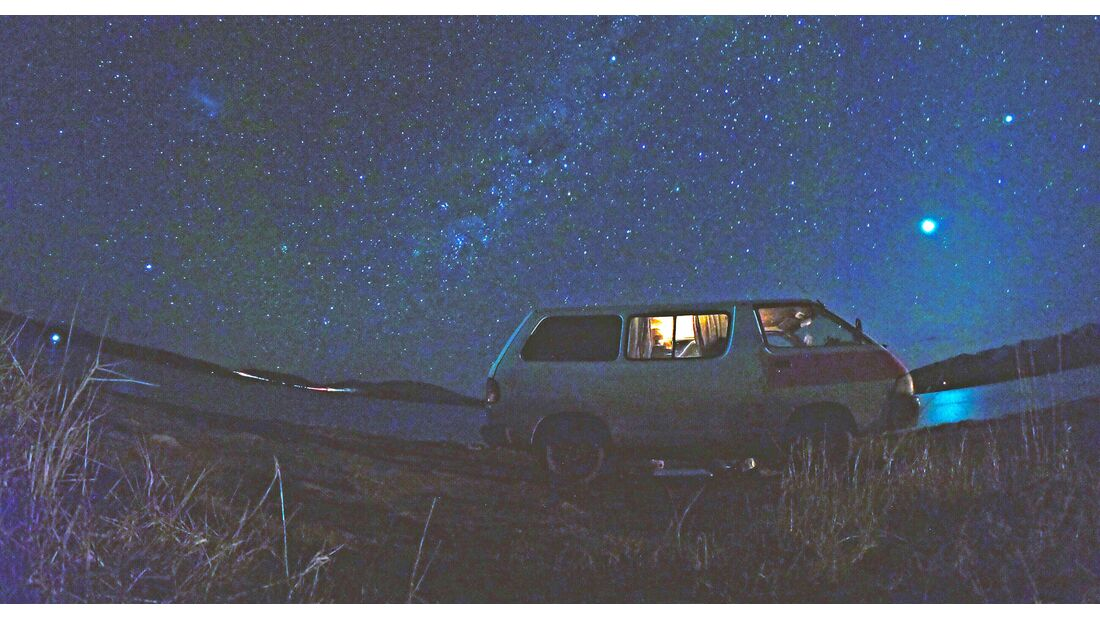Neuseeland - Sternenklare Nacht