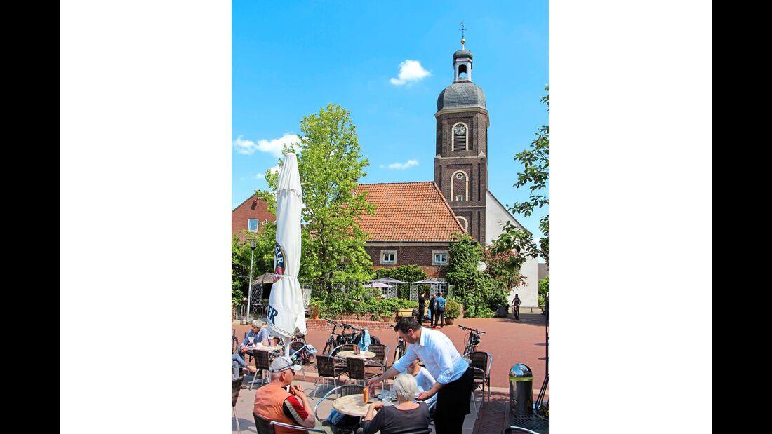 Nordkirchen ist einer dieser typischen verträumten Orte im Münsterland.