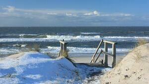 Nordsee im Winter