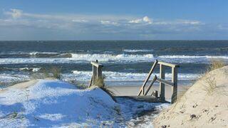Nordsee im Winter