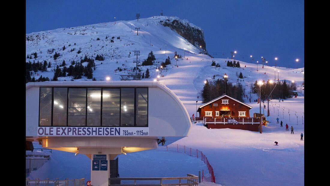 Norwegen Flutlicht