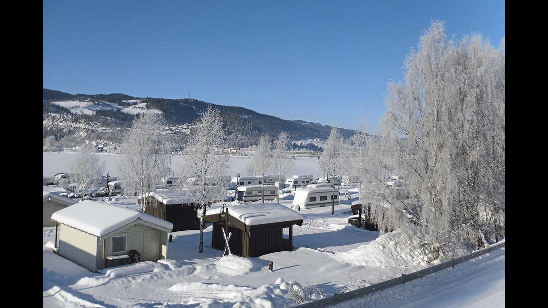 Norwegen Lillehammer Camping