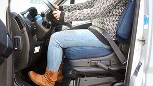 Nur ein korrekt eingestellter Sitz gewährt Sicherheit und Komfort.