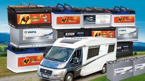 Nur mit einer geeigneten Bordbatterie kommt im Reisemobil Freude auf.