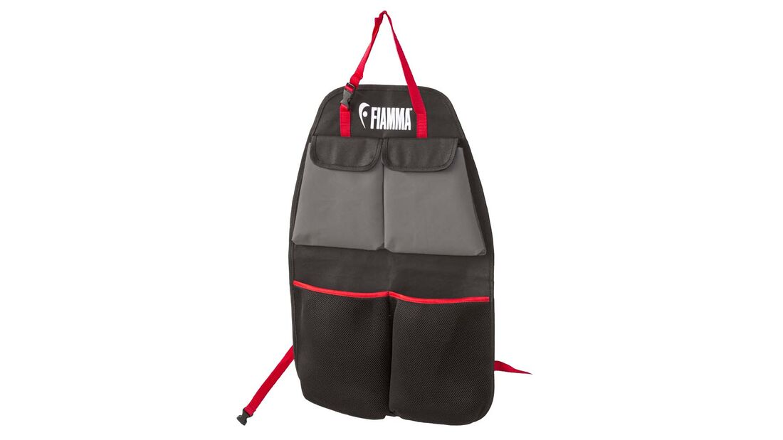 Nur wenige Sitze haben eine Tasche an der Rückenlehne.