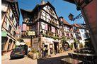 Obernai: Das schöne Städtchen besticht mit Fachwerk und mittelalterlichen Bauten.