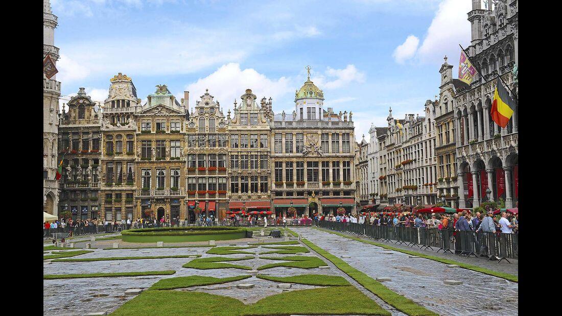 Obwohl inmitten von Flandern gelegen, ist Belgiens Hauptstadt (rund 1,1 Mio. Einwohner) eine eigene Region des Königreichs.