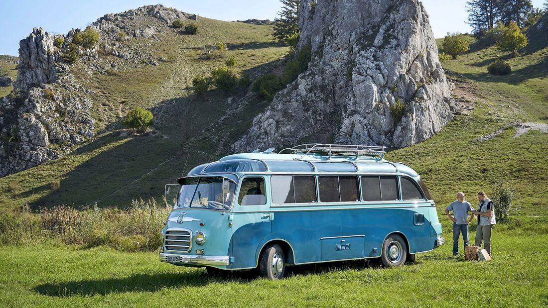 Oltimer Reisebus Setra