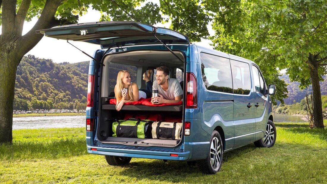 Opel Vivaro Life 2018 Weltpremiere Des Opel Campervans Promobil
