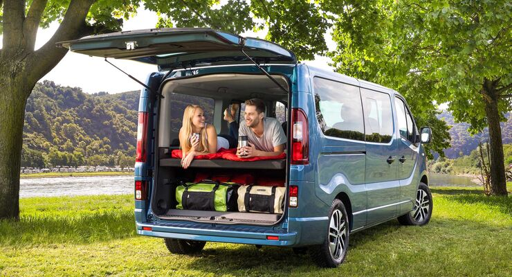 opel vivaro life 2018 weltpremiere des opel campervans promobil. Black Bedroom Furniture Sets. Home Design Ideas