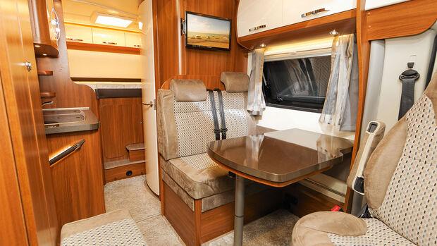 Optima-Van: im Foto die umfangreich ausgestattete De-Luxe-Version.
