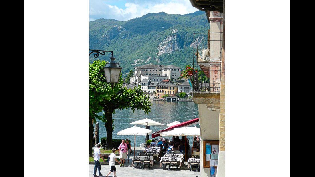 Orta Piemont Italien