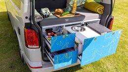 Osccar Möbel-Modulsystem für VW Tranpsorter und Vans