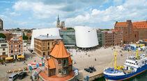 Ozeaneum am Stralsunder Hafen