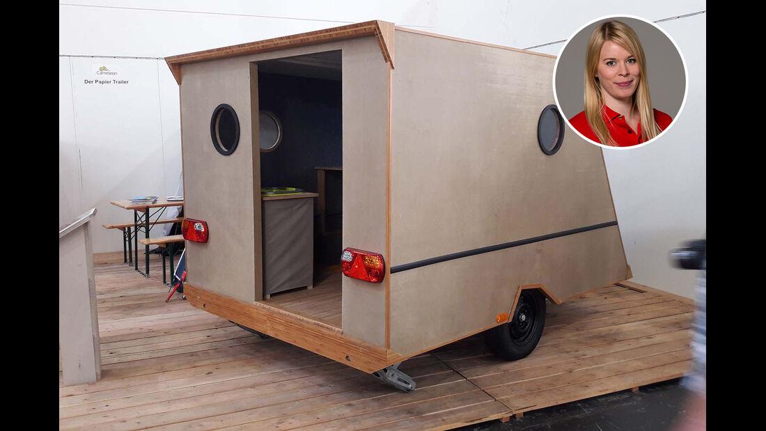 Paper Caravan