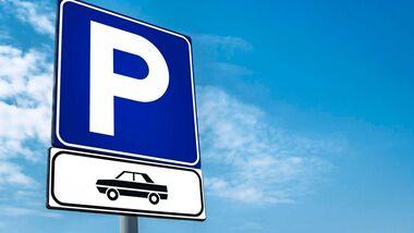 Parken Pkw-Zusatzschild