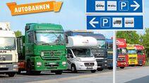Parken und Übernachten: Am Straßenrand oder an der Autobahn