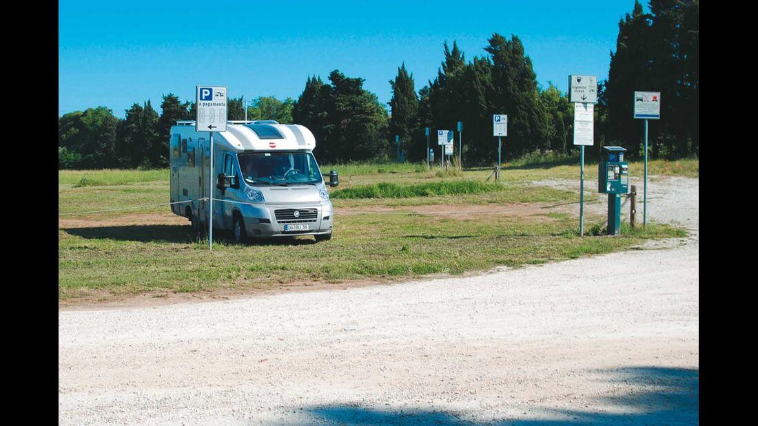 Parking Caldanelle Piombino