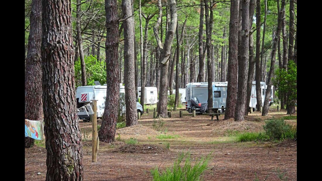 Parking du Vivier in Biscarrosse-Plage