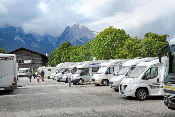 Parkplatz Alpencamp am Wank