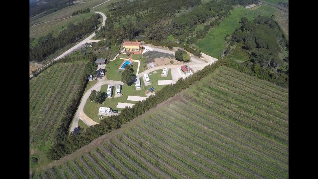 Parque de Autocaravanas Casa Azzurra