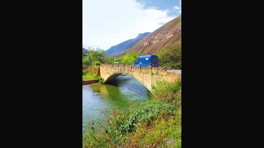 Peru bei Kuelap Anden