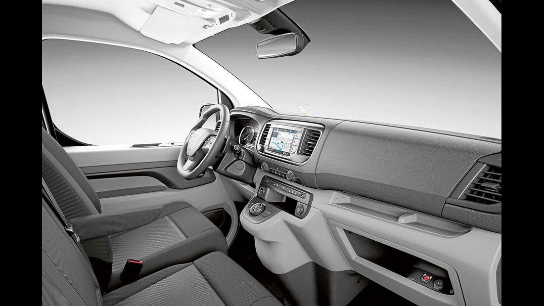 Peugeot Expert Armaturen