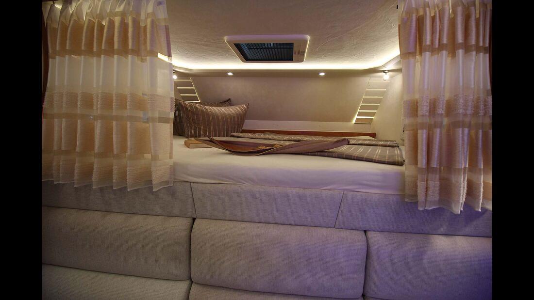 PhoeniX TopX-Alkoven Bett im Alkoven
