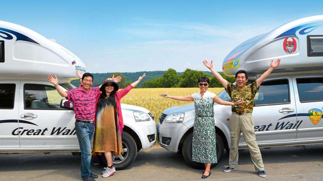 Pick-up-Reisemobile