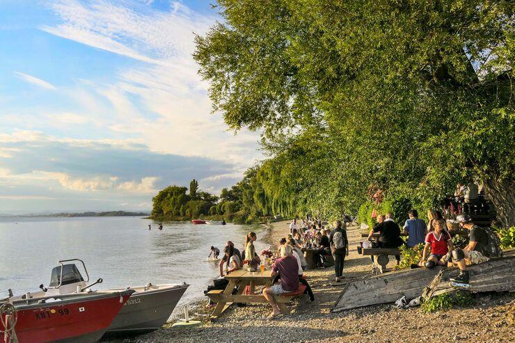Picknick am Bodensee