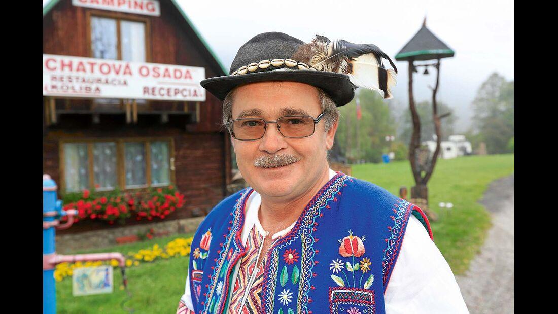 Platzbetreiber Ladislav Simonik