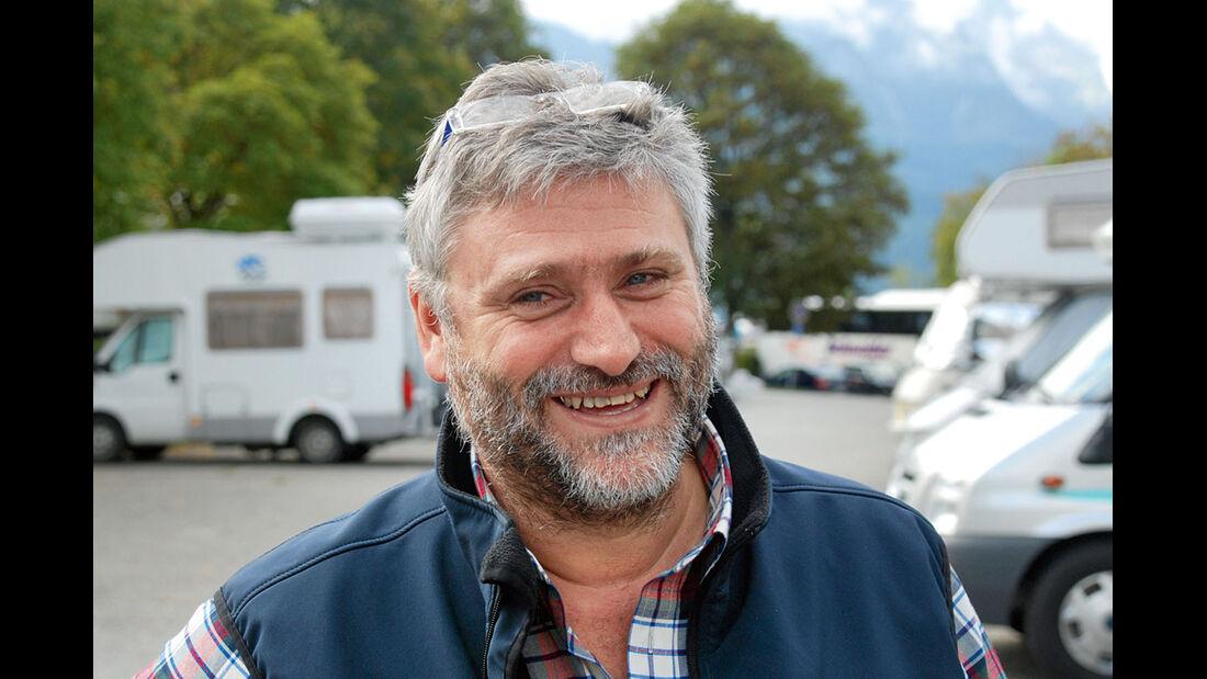 Platzchef Christoph Schönmoser
