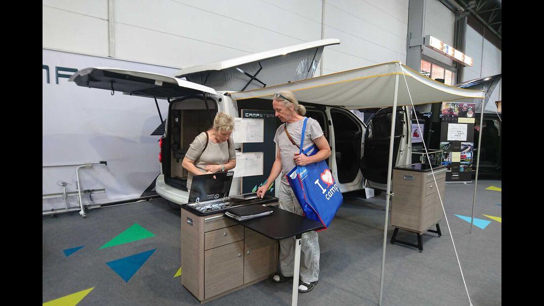 Pössl Campster (2018) Caravan Salon 2017
