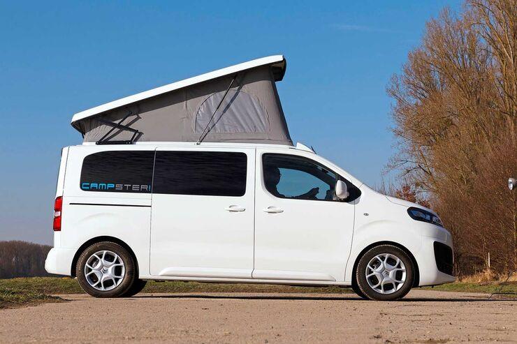 p ssl campster 2019 kompaktcampingbus mit aufstelldach. Black Bedroom Furniture Sets. Home Design Ideas