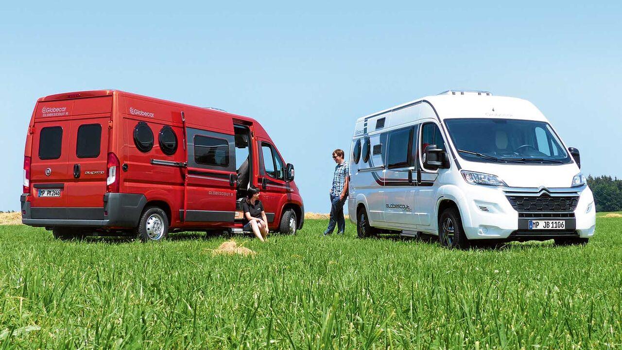 Marktübersicht: Kompakte Wohnmobile unter 9 Meter Länge