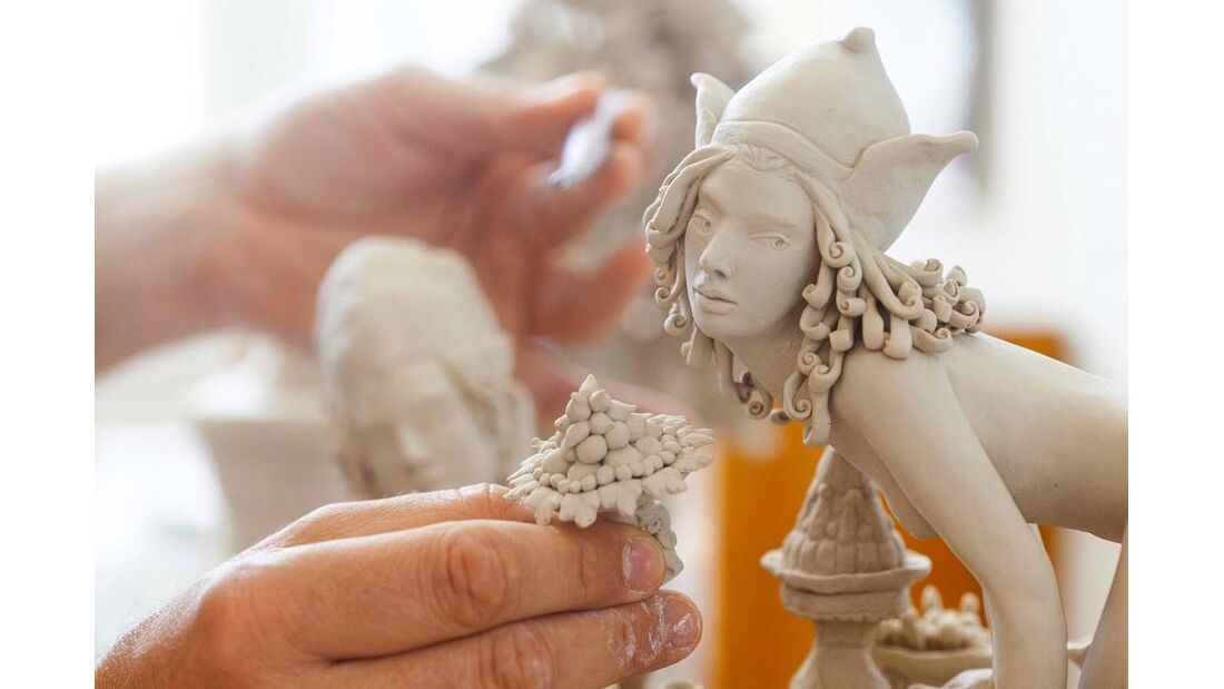 Porzellanfigur aus Meißen
