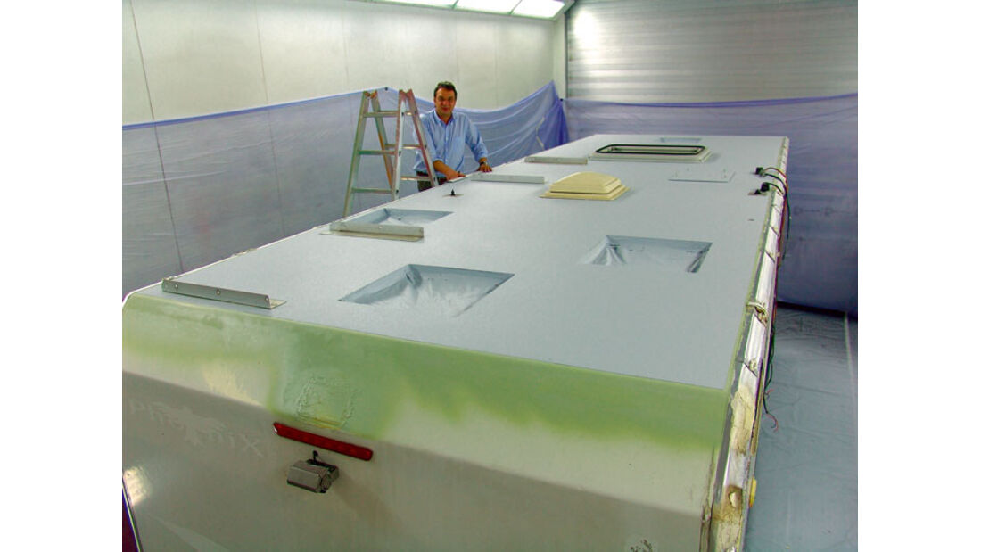 Praxis: Dachbeschichtung