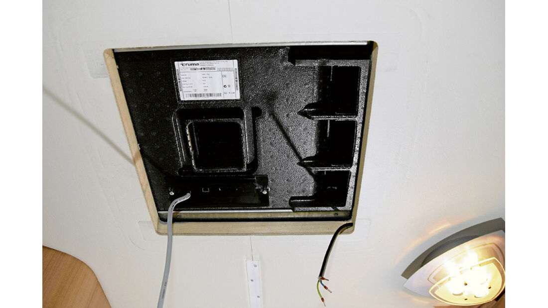 Praxis, Einbau Klimaanlage