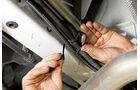Praxis: Zusatzluftfederung, Kabelbinder