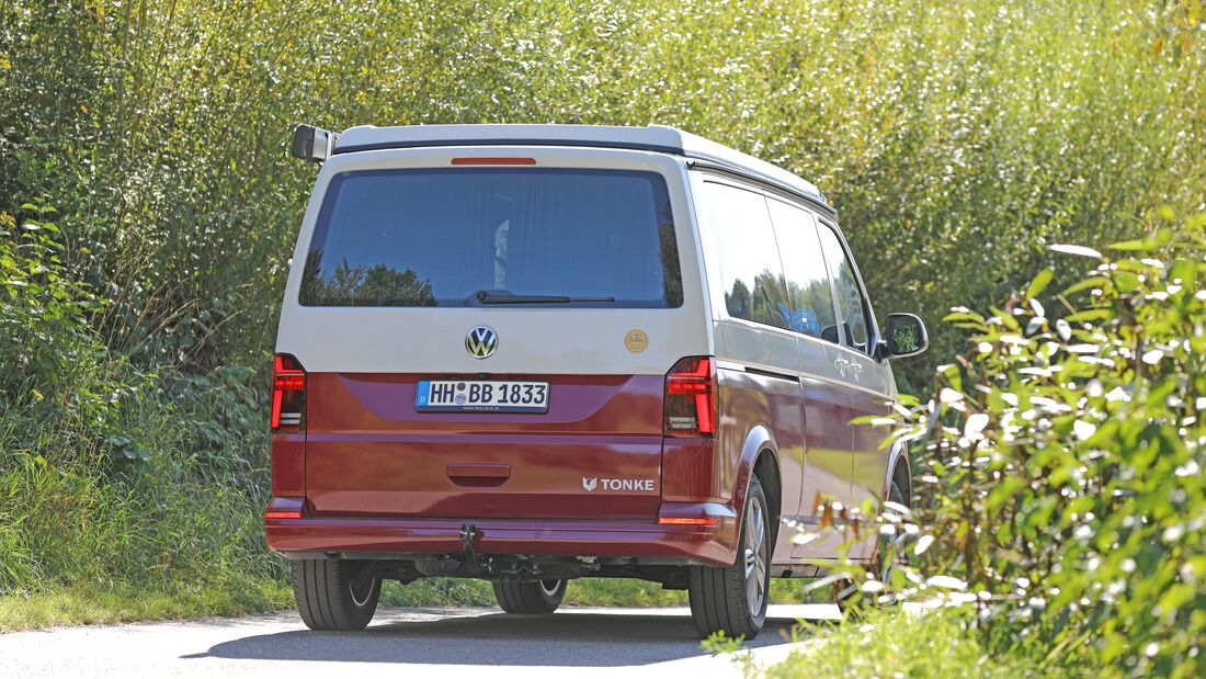 Praxistest Tonke Van XL (2022)