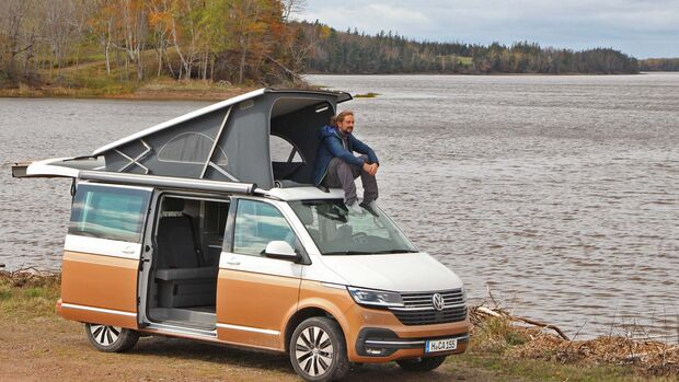 Praxistest VW T6.1 California Ocean (2020)