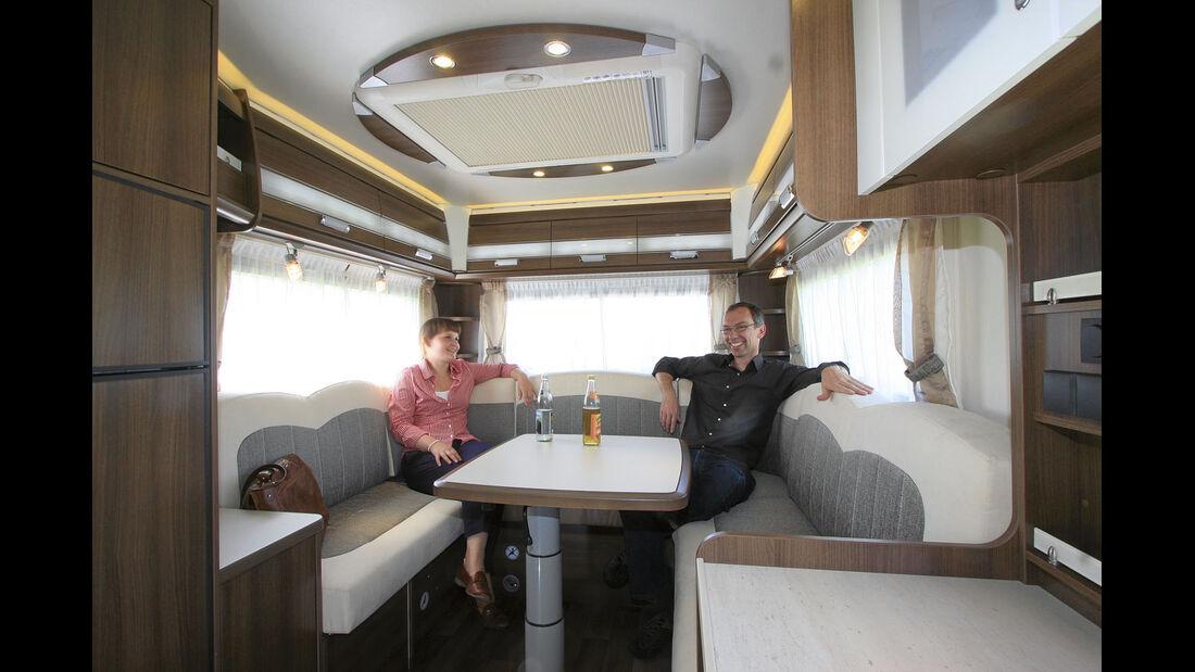 Premiere: Caravan-Salon, Dethleffs Esprit A