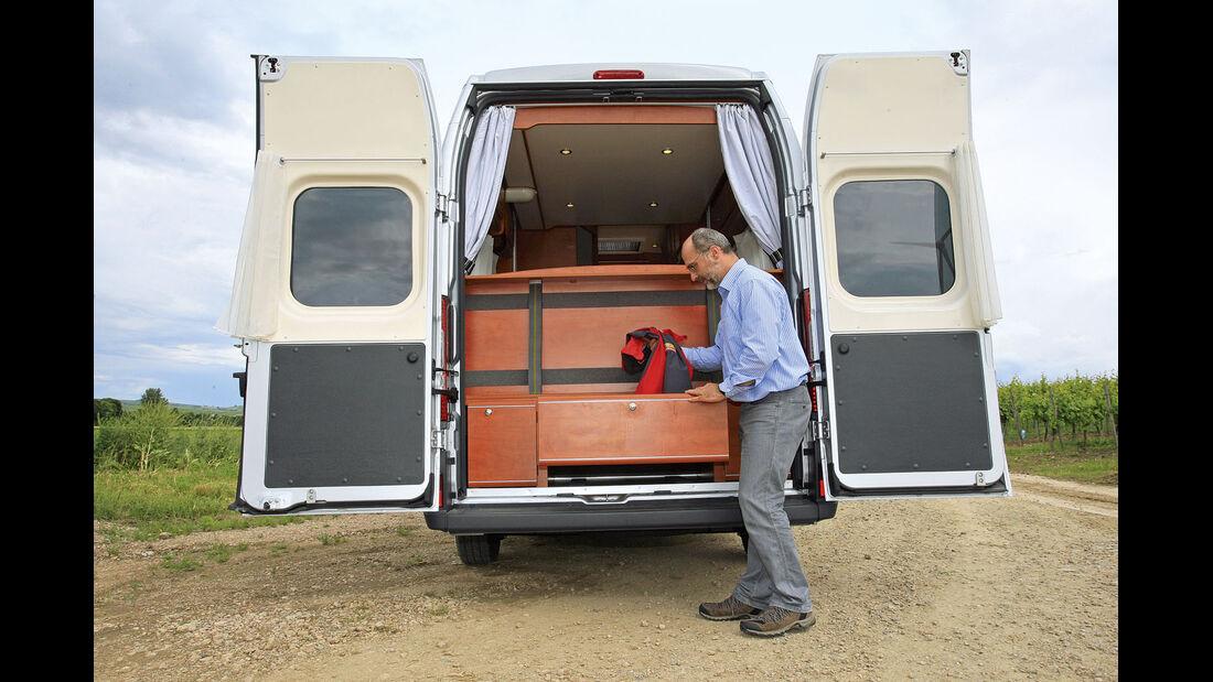 Premiere: Caravan-Salon, Karmann Dexter